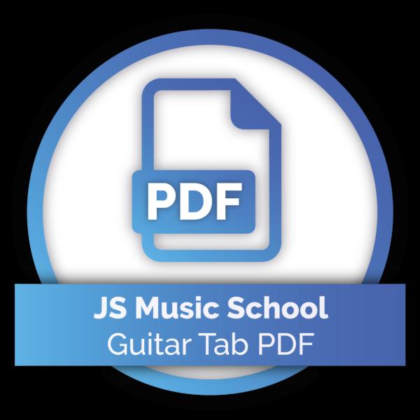 JS Music School - Guitar Tab PDF