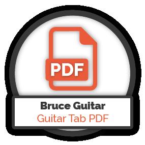 Bruce Springsteen Guitar Guitar Tab PDF