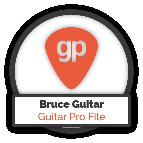 Bruce Springsteen Guitar - Guitar Pro FIle