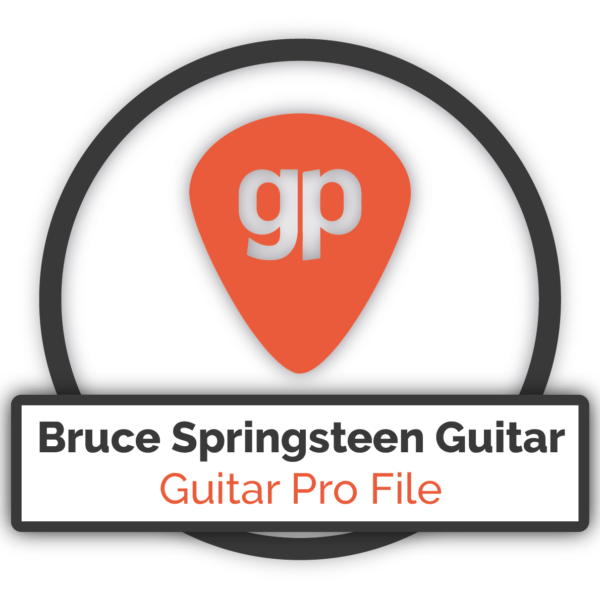 Bruce Springsteen Guitar - Guitar Pro FIle