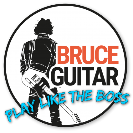 Bruce Springsteen Guitar - Play like The boss